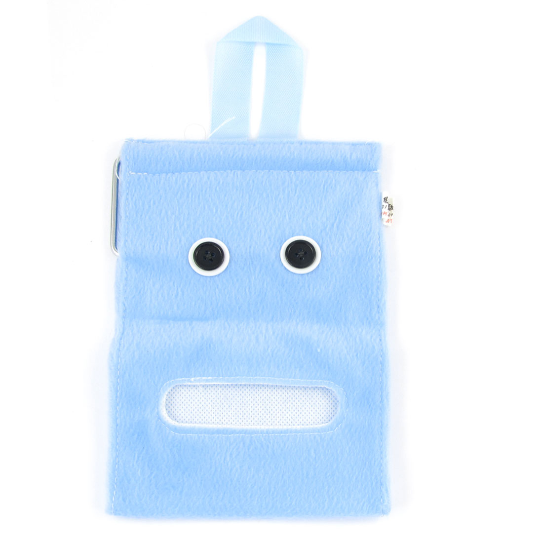 Wall Hanging Toilet Roll Paper Towel Tissue Container Holder Baby Blue