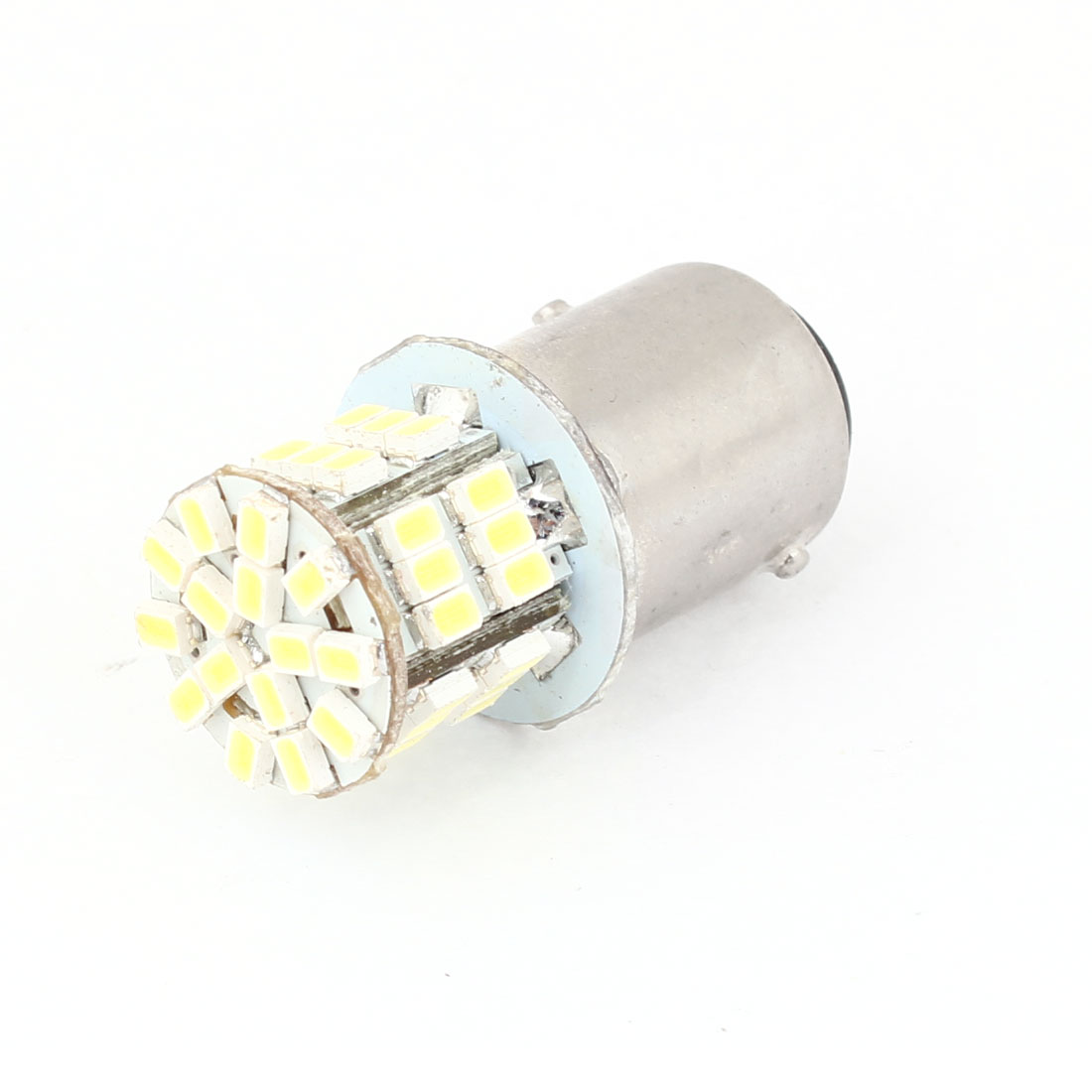 White 45 LED Bulbs Reversing Brake Light BAY15D 1157 for Car