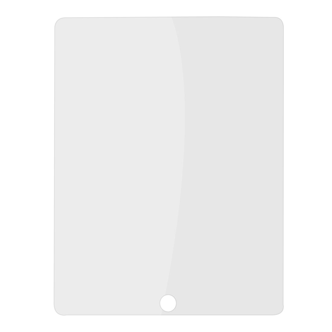 Rectangle Transparent Clear LCD Screen Guard Protector for iPad 2 3