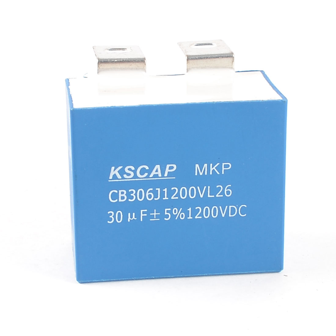 Cuboid Shaped 2 Terminals MKP Capacitor DC 1200V 30uF