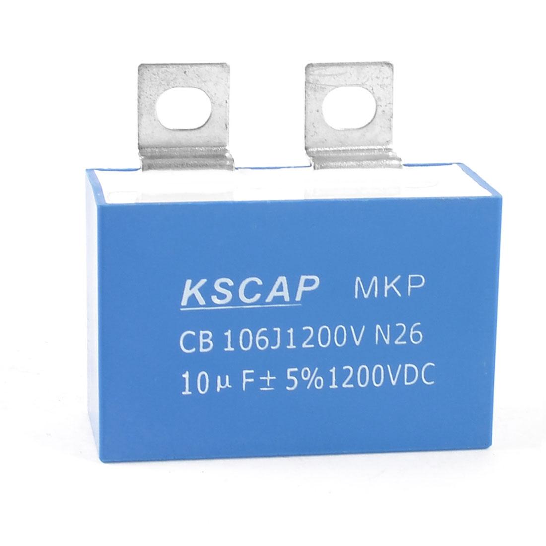 MKP Polypropylene Film Motor Capacitor 1200VDC 10uF