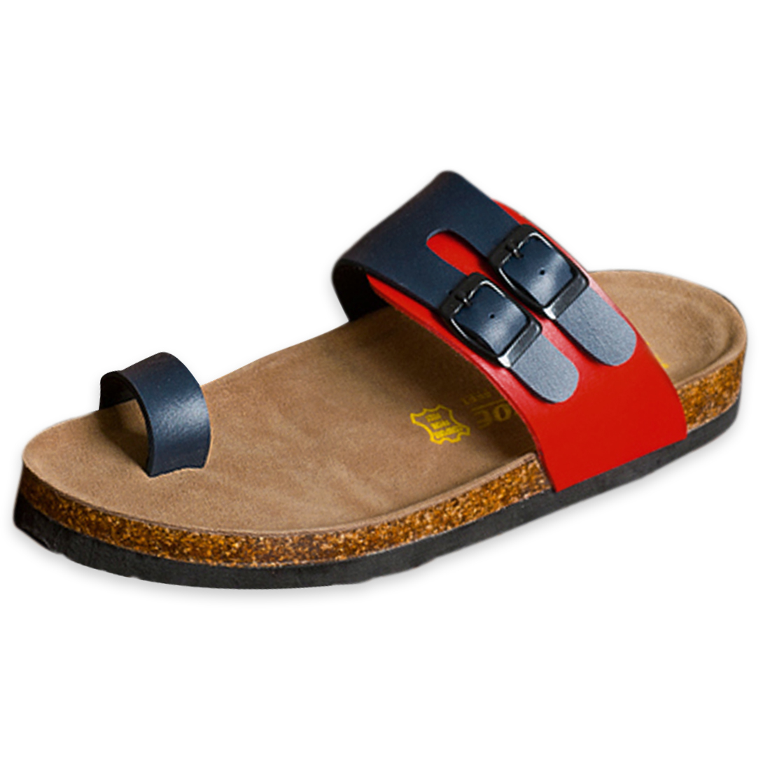 Blue Red US Size 8 Featuring Summer Fashion Design Sandal for Men