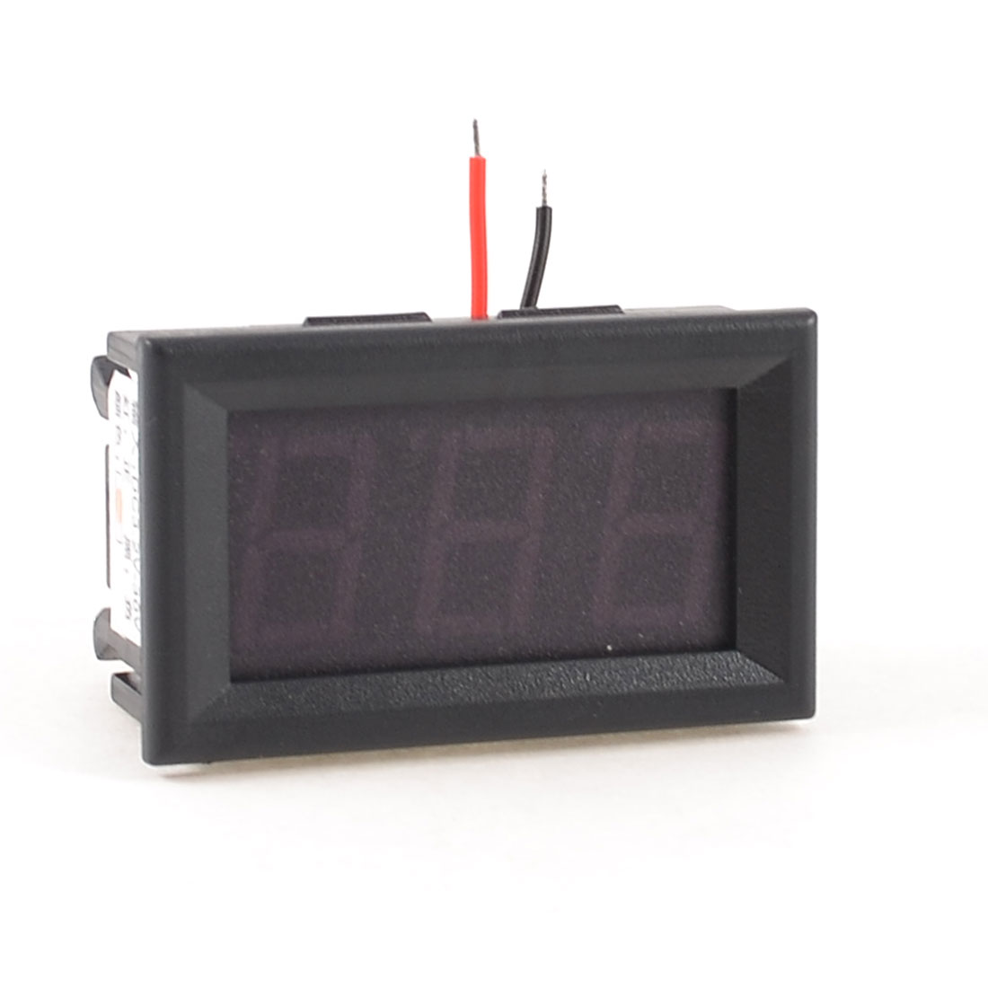 Red 3 Digits LED Display Voltage Test Mini Voltmeter DC 3.2-30V