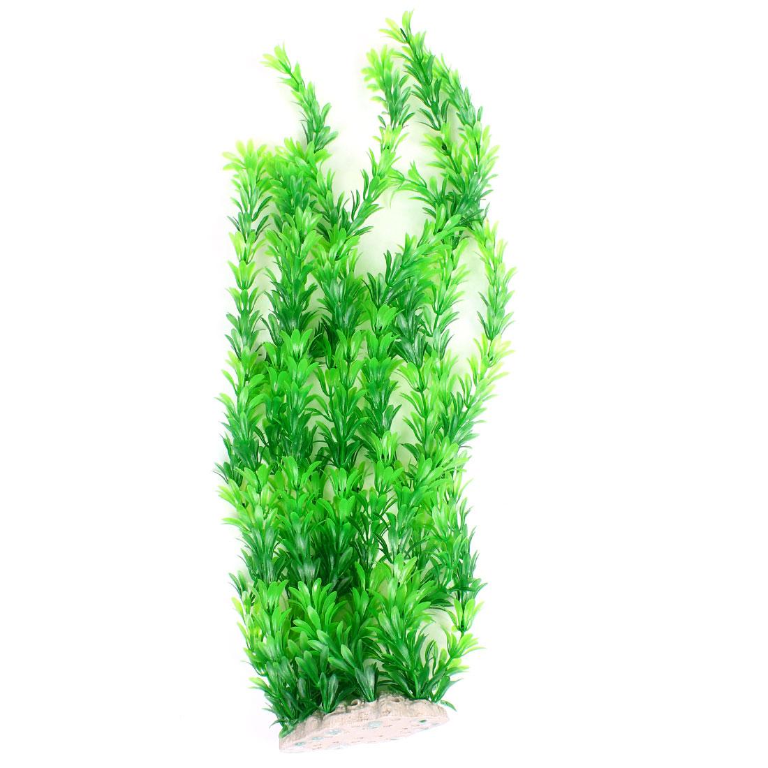 "Emulational Underwater Green Grass Plants 21.7"" Height for Aquarium"