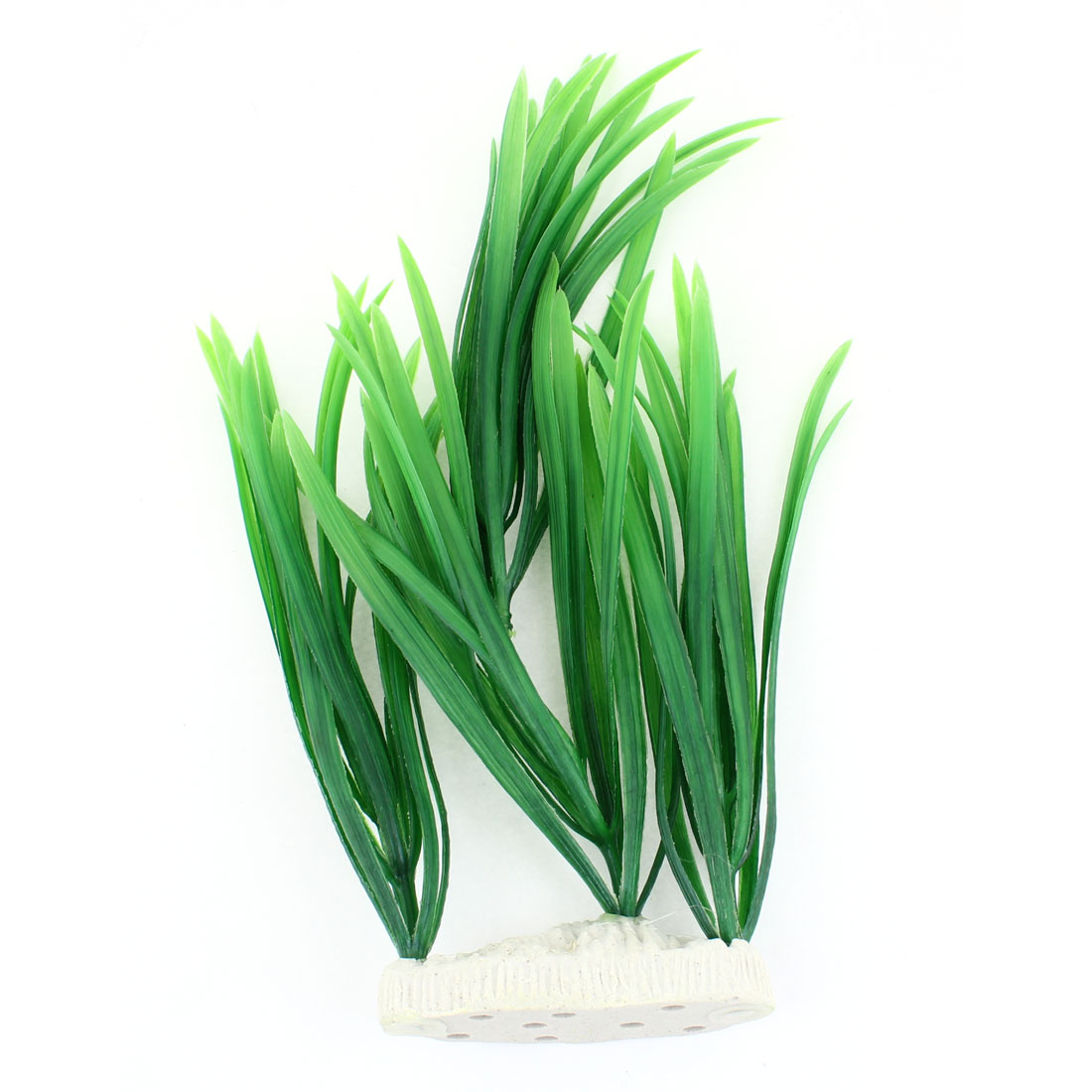 "12.6"" Height Green Plastic Grass Plants Decoration for Fish Tank"