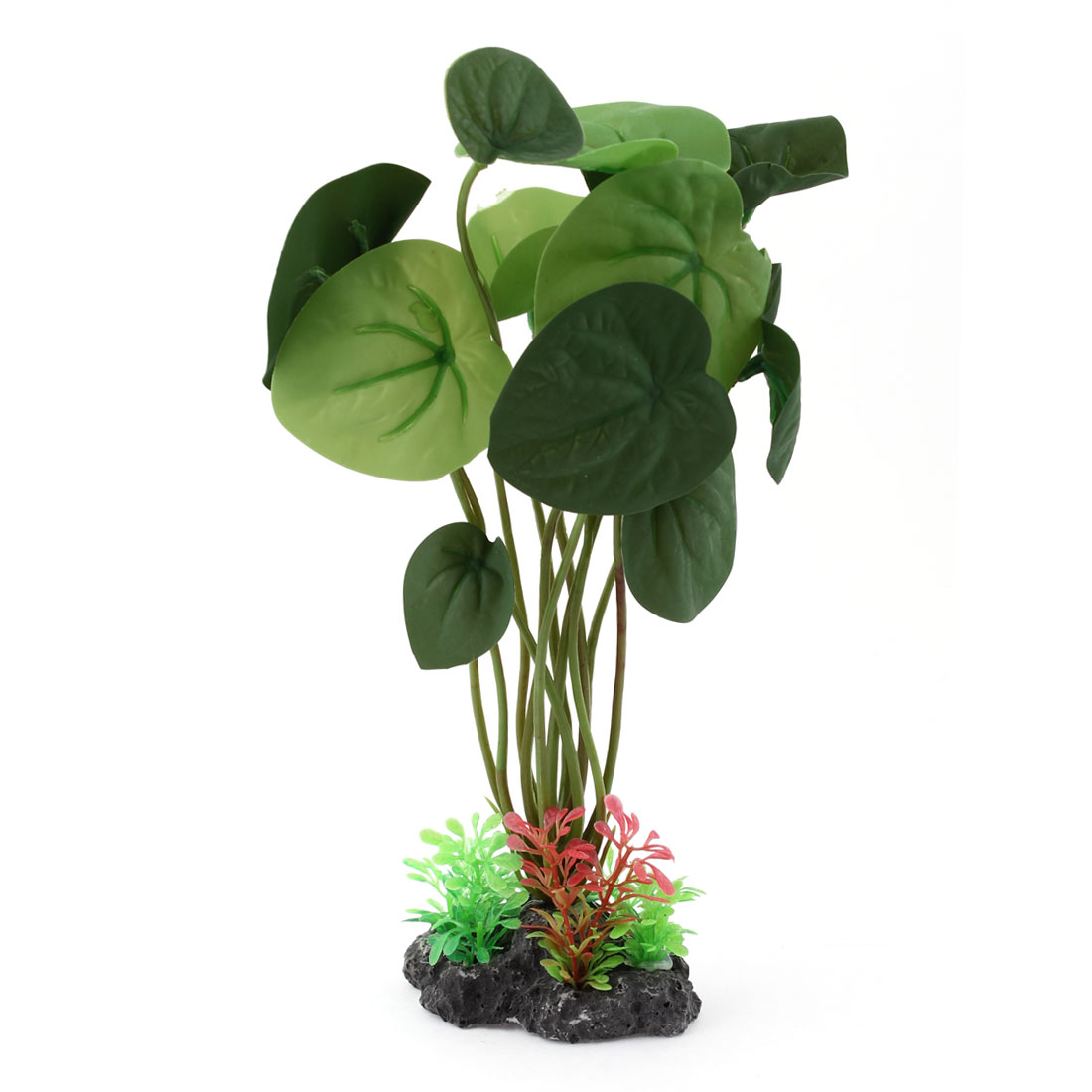 "8.3"" Height Green Plastic Grass Plants Decoration for Fish Tank"
