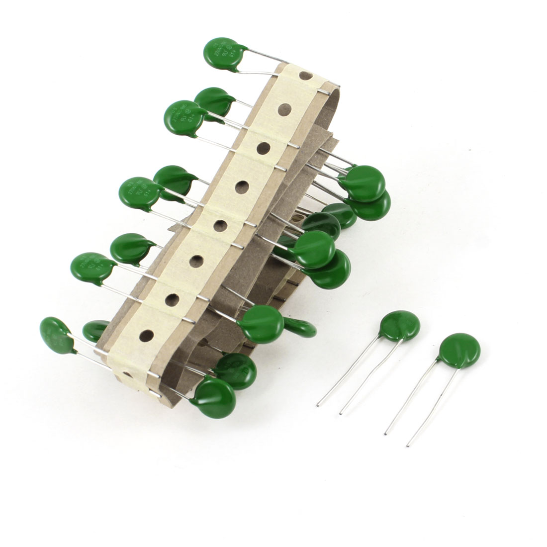 30 Pcs 6mm Lead Spacing Radial Lead Voltage Dependent Resistors