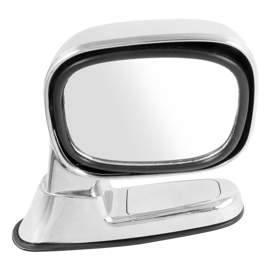 Auto Car Silver Tone Plastic Shell Right Side Assistant Rear View Mirror