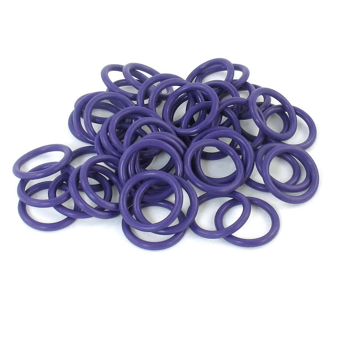100pcs HNBR Car Truck Van Air Con A/C Purple Seal O Ring 14.3 x 11.5 x 1.7mm
