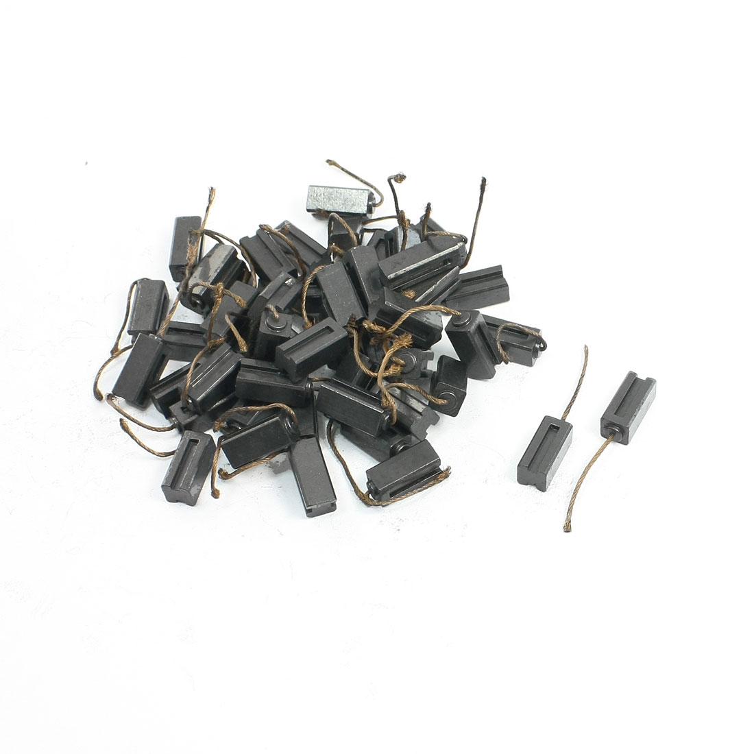 "50 Pcs Electric Drill Motor Carbon Brushes 1/4"" x 1/4"" x 9/16"""