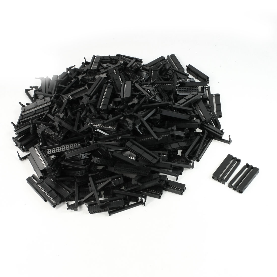 200 Pcs 2.2mm Pitch 30P Contact Flat Cable IDC Socket Connector FC1-30P