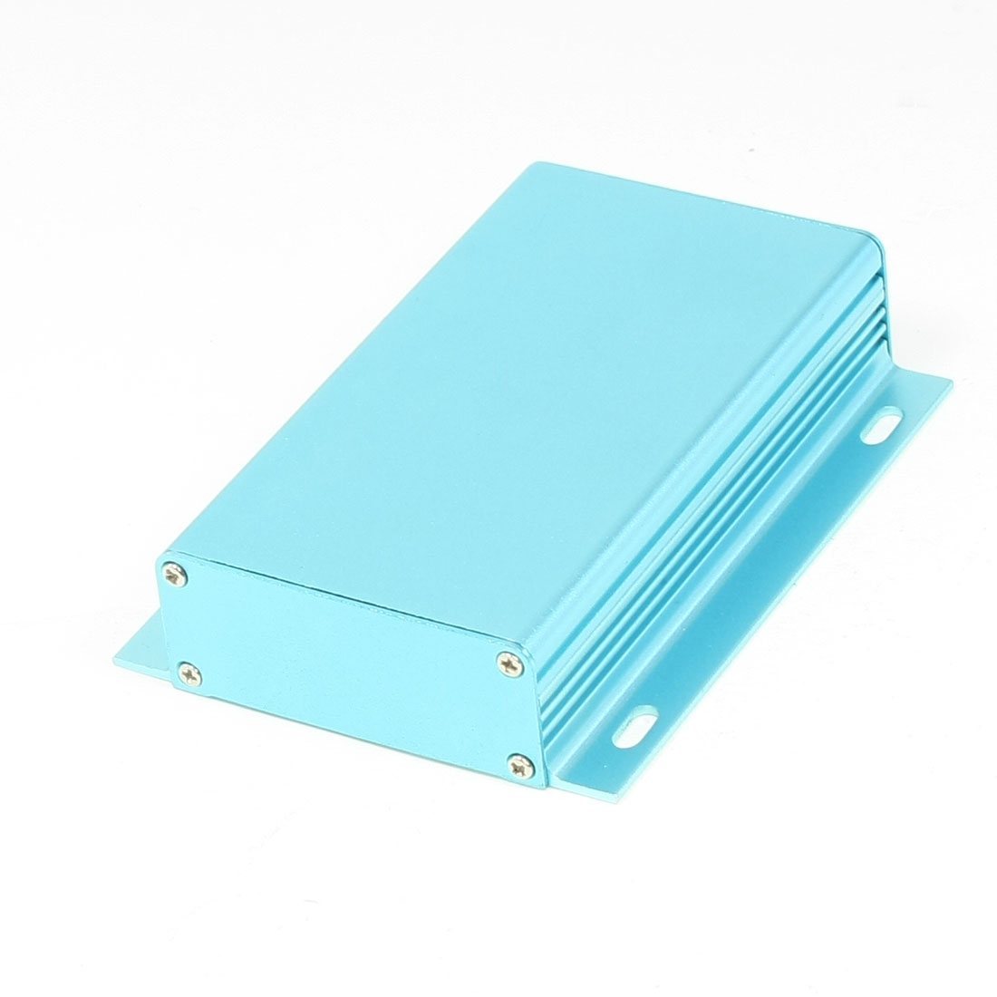 112mm x 62mm x 24mm Aluminum Enclosure Case DIY Junction Box Blue