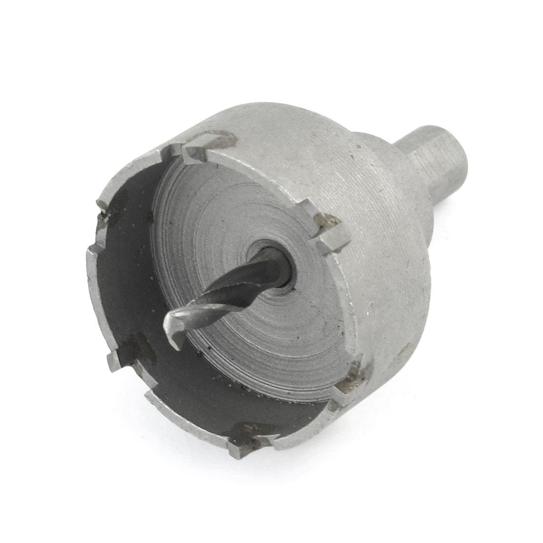 HSS 40mm Dia Iron Tile Cutting Twist Drill Bit Hole Saw