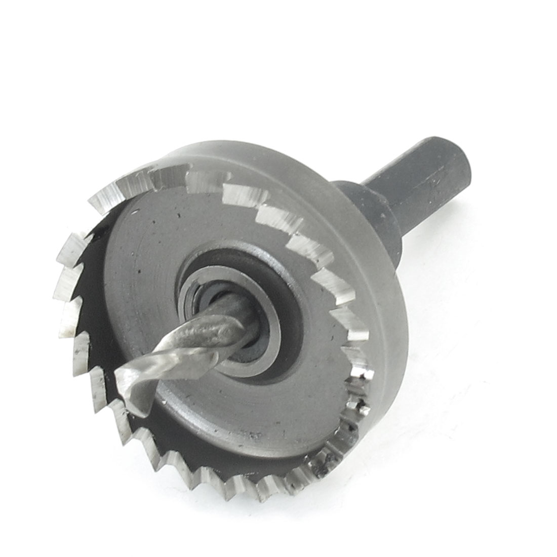 HSS 40mm Dia Iron Cutting Twist Drill Bit Hole Saw Cutter Tool