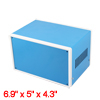 175mmx126mmx108mm Blue Metal Enclosure Case DIY Junction Box
