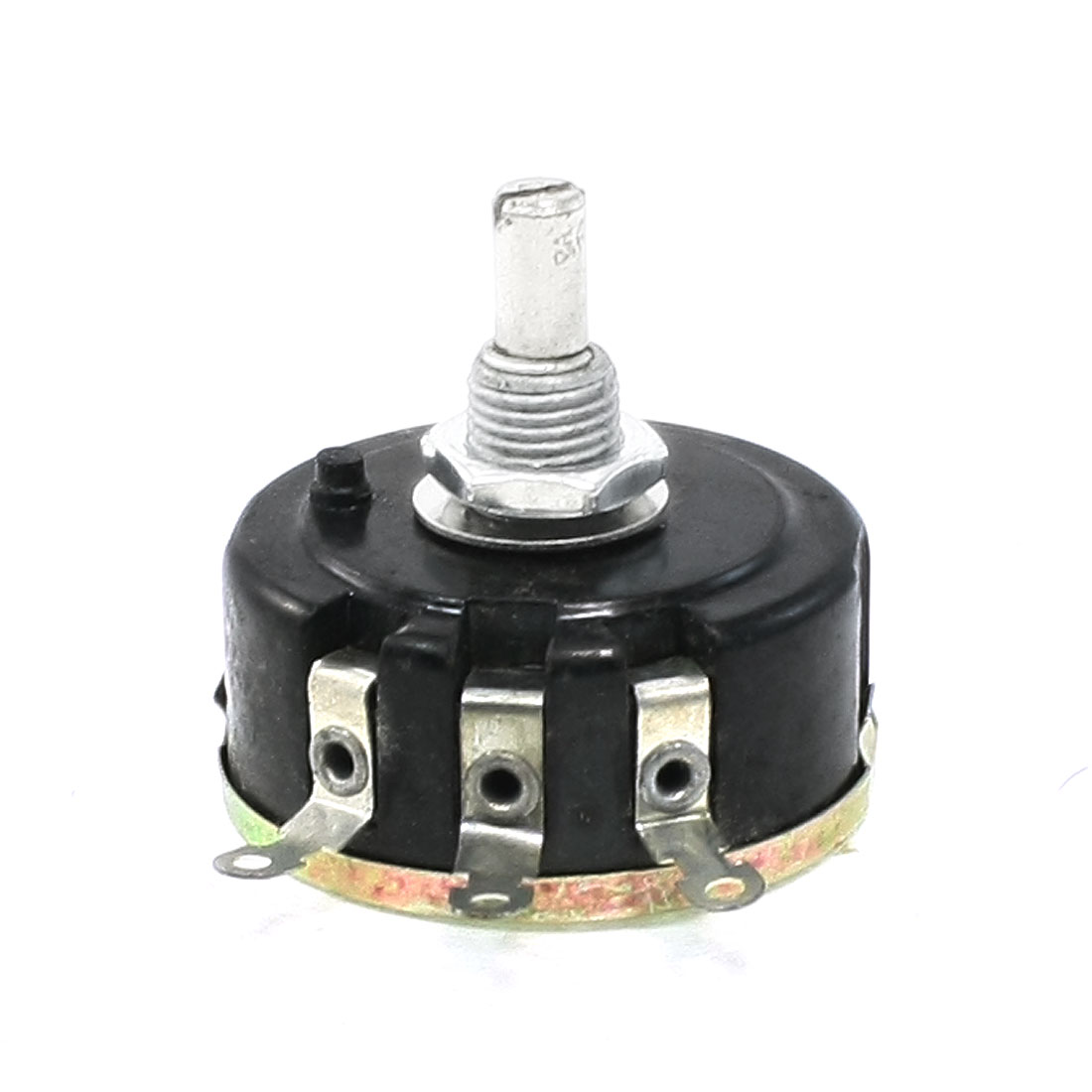 10K ohm 6mm Round Shaft Carbon Composition Rotary Taper Potentiometer