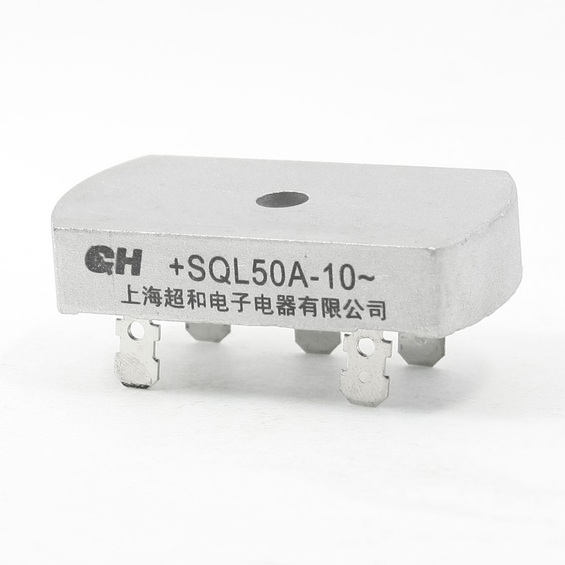 SQL50A-10 1KV 50A Three Phase Bridge Rectifier Half-Wave Silver Tone