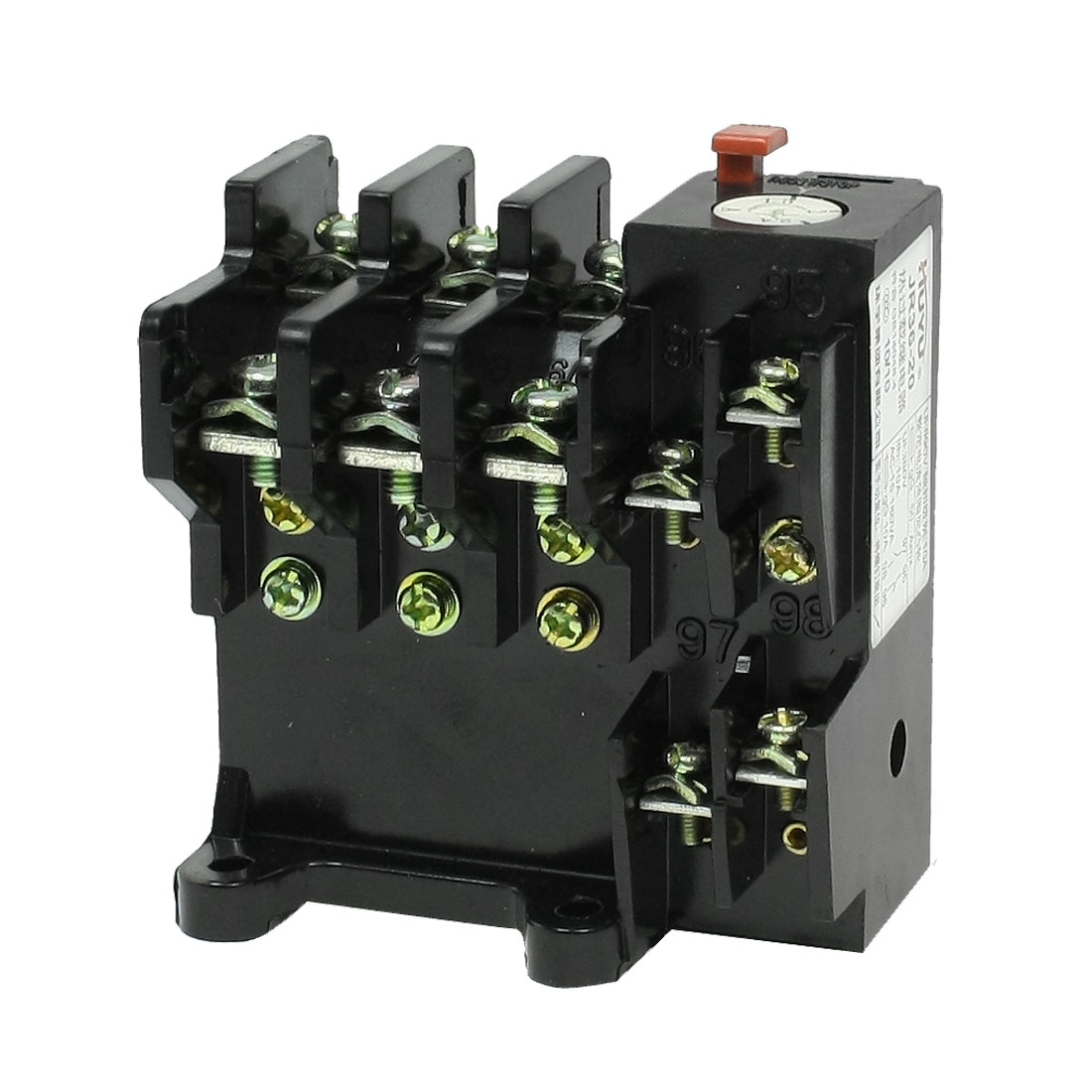 JR36-20 3 Phase 1NO 1NC 1.5-2.4A Range Electric Thermal Overload Relay