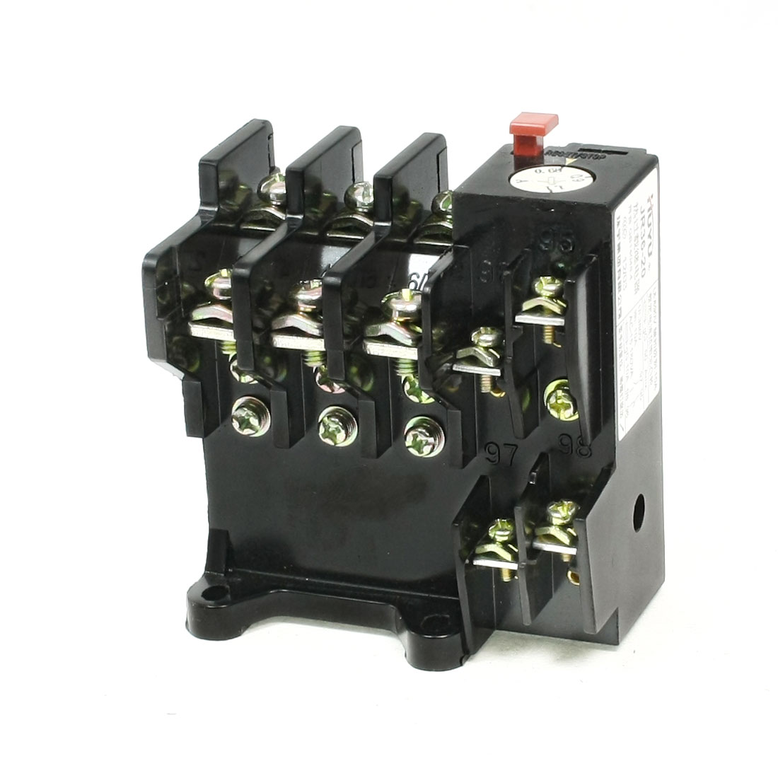JR36-20 3 Phase 1NO 1NC 0.68-1.1A Range Electric Thermal Overload Relay