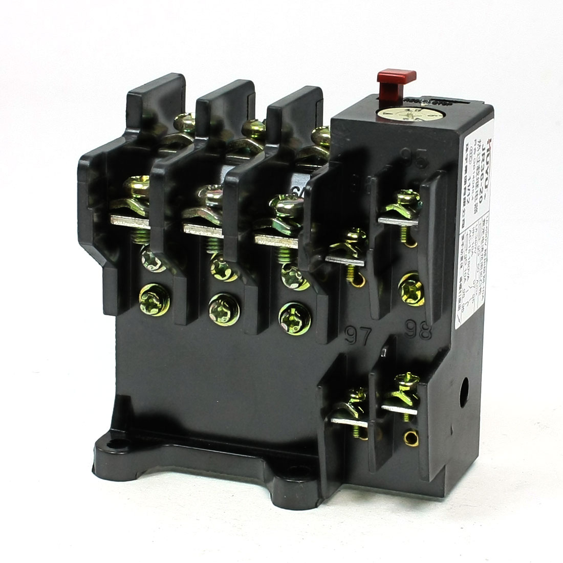 JR36-20 3 Phase 1NO 1NC 4.5-7.2A Range Electric Thermal Overload Relay