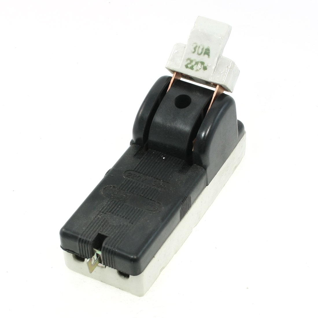 AC 220V 30A Two Pole Single Throw Circuit Control Closing Disconnect Switch