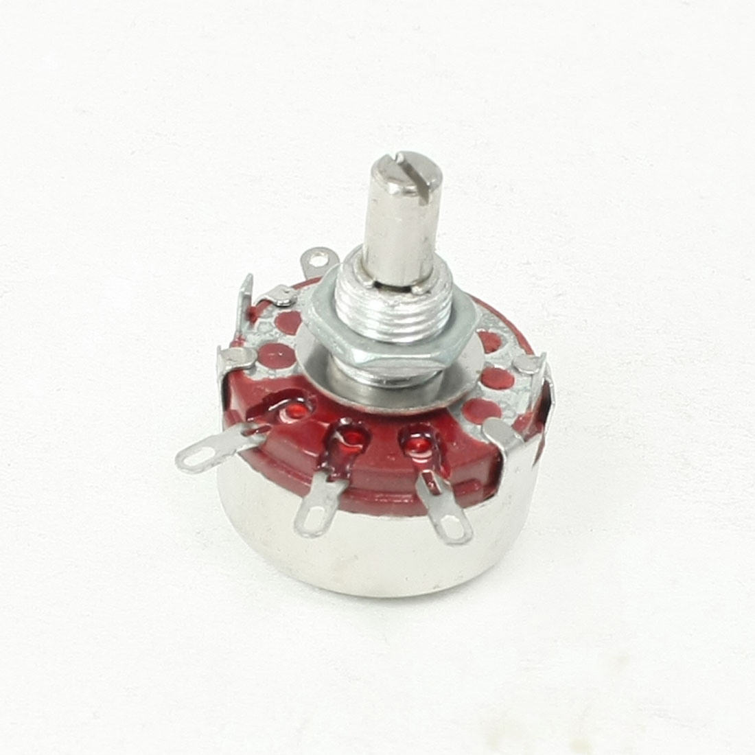 22K ohm 2W Watt Single Turn Rotary Linear Taper Carbon Potentiometer WTH118
