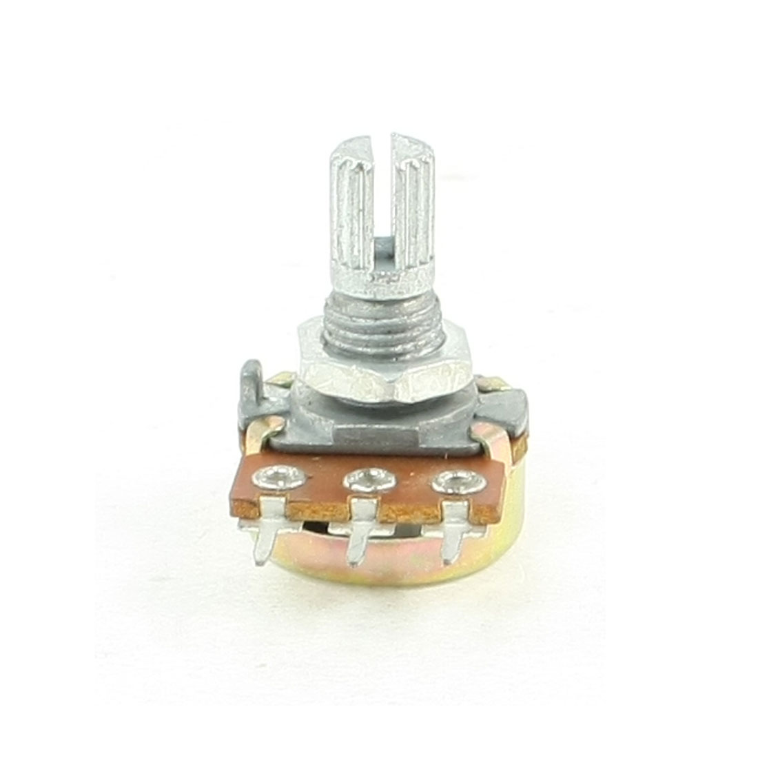 1K ohm 3-Pin 6mm Split Knurled Shaft Rotary Linear Taper Potentiometers