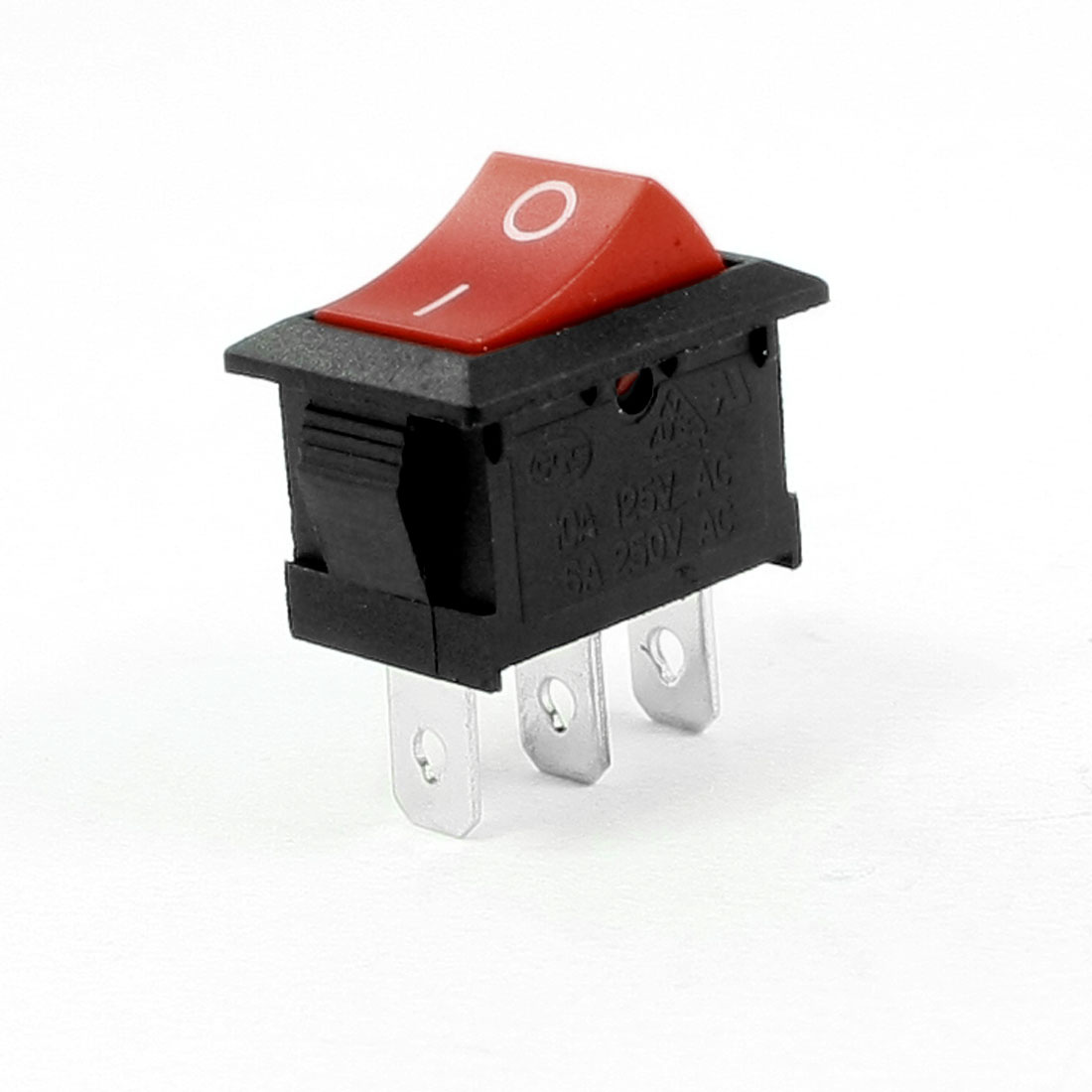 AC 250V 3A SPDT 3 Pins I/O Snap In Boat Rocker Switch