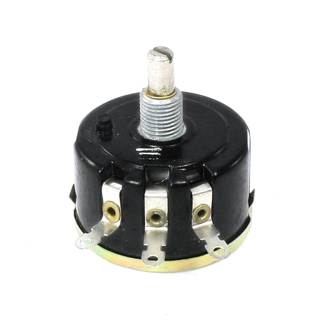 4.7K ohm 6mm Round Shaft Carbon Composition Rotary Taper Potentiometer