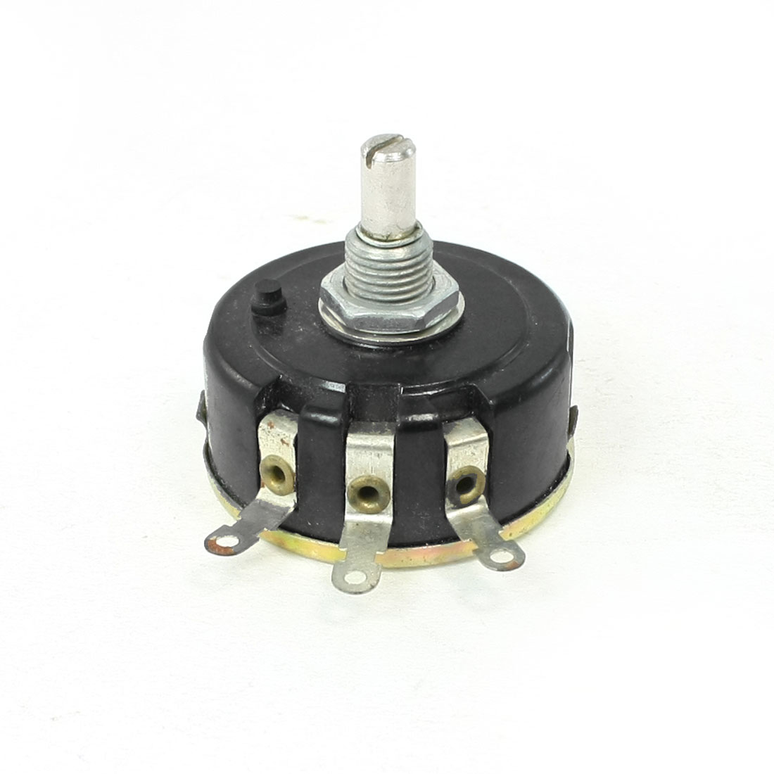 22K ohm Single Turn Carbon Composition Rotary Taper Potentiometer