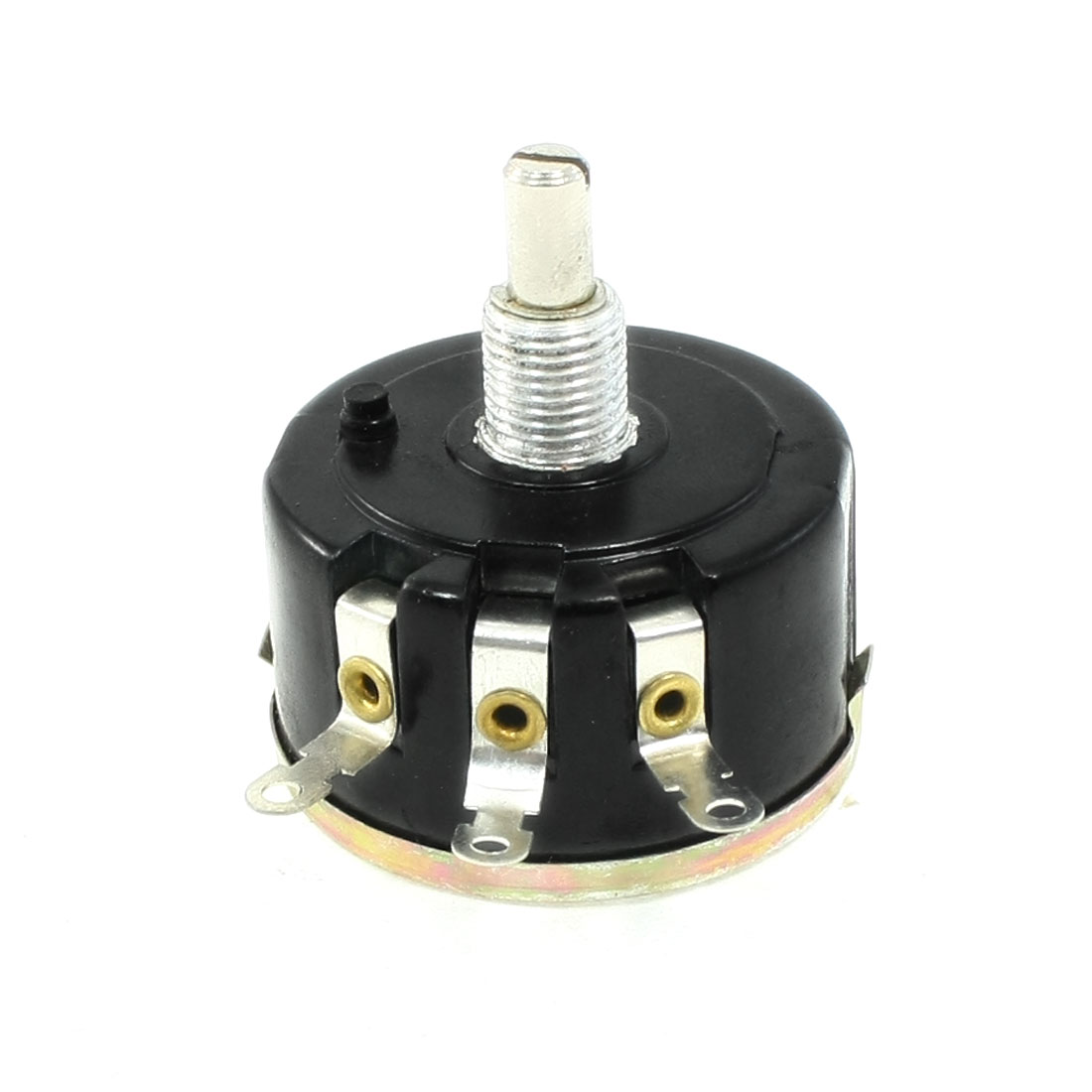 47K ohm Single Turn Carbon Composition Rotary Taper Potentiometer