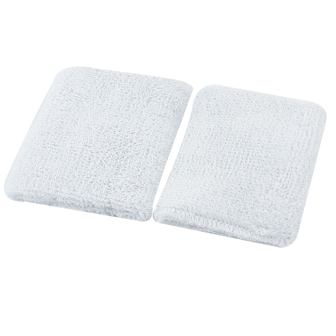 Pair Sports Protection White Knitted Elastic Wrist Support Sleeve