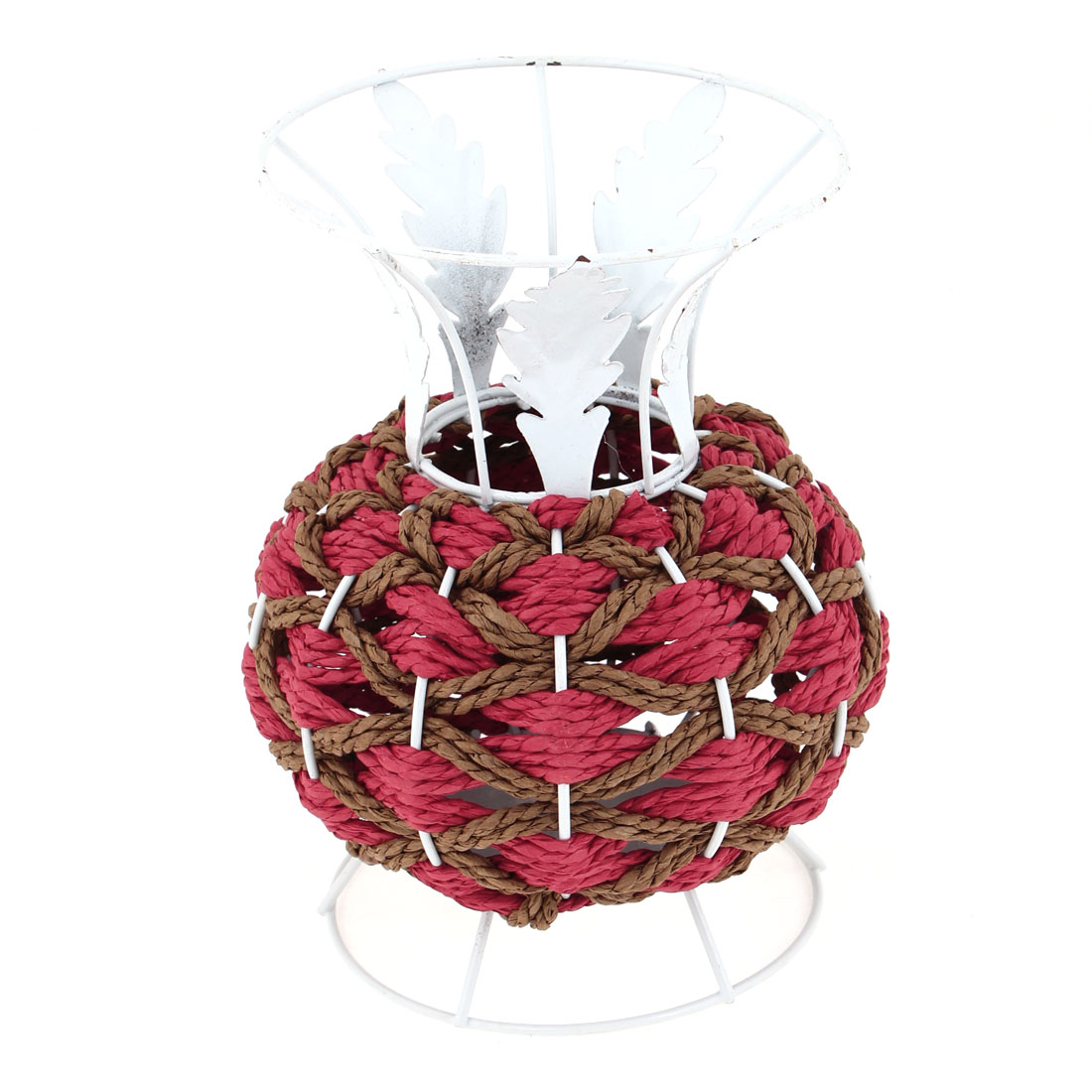 Household Tree Decor Braided Cord Vase Pencil Scissors Storage Basket Holder