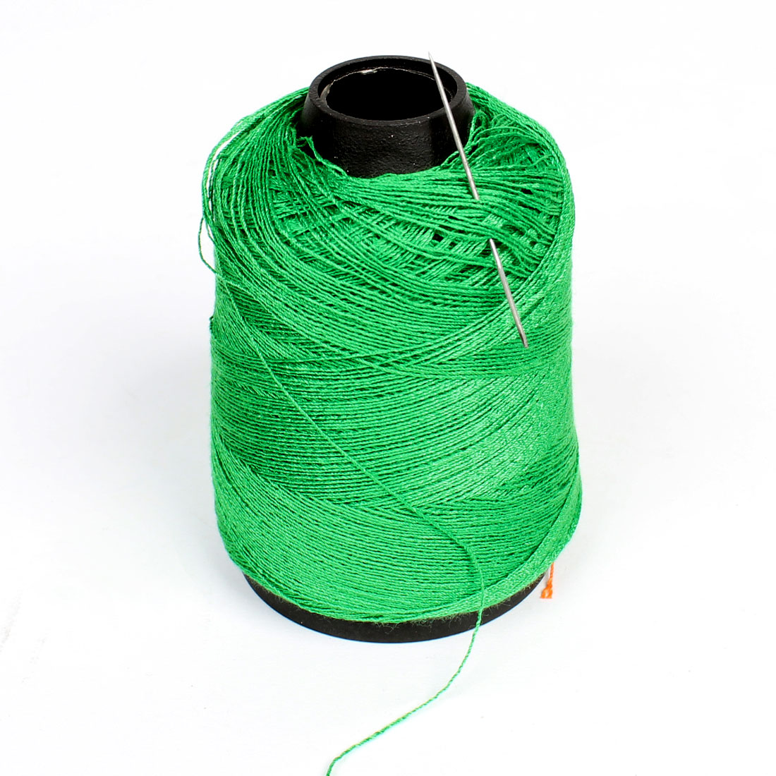 Factory Tailor Quilting Stitching Cotton Sewing Thread Spool Green w Needle