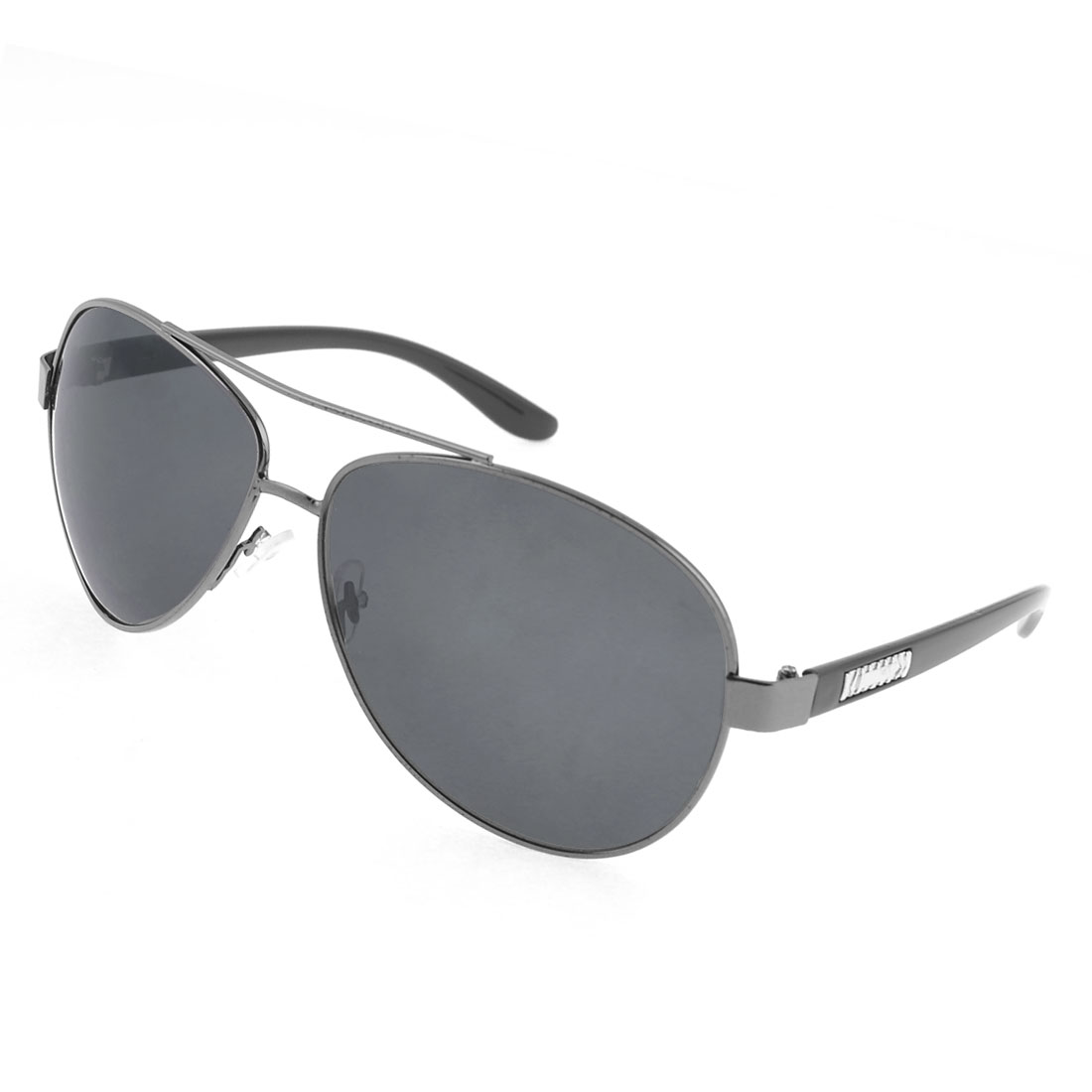 Black Double Bridges Triangle Shape Lens Sunglasses for Men