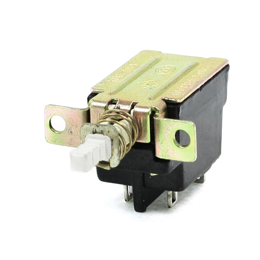 AC 250V 8A/128A 4 Pins DPST Latching Type Power Switch