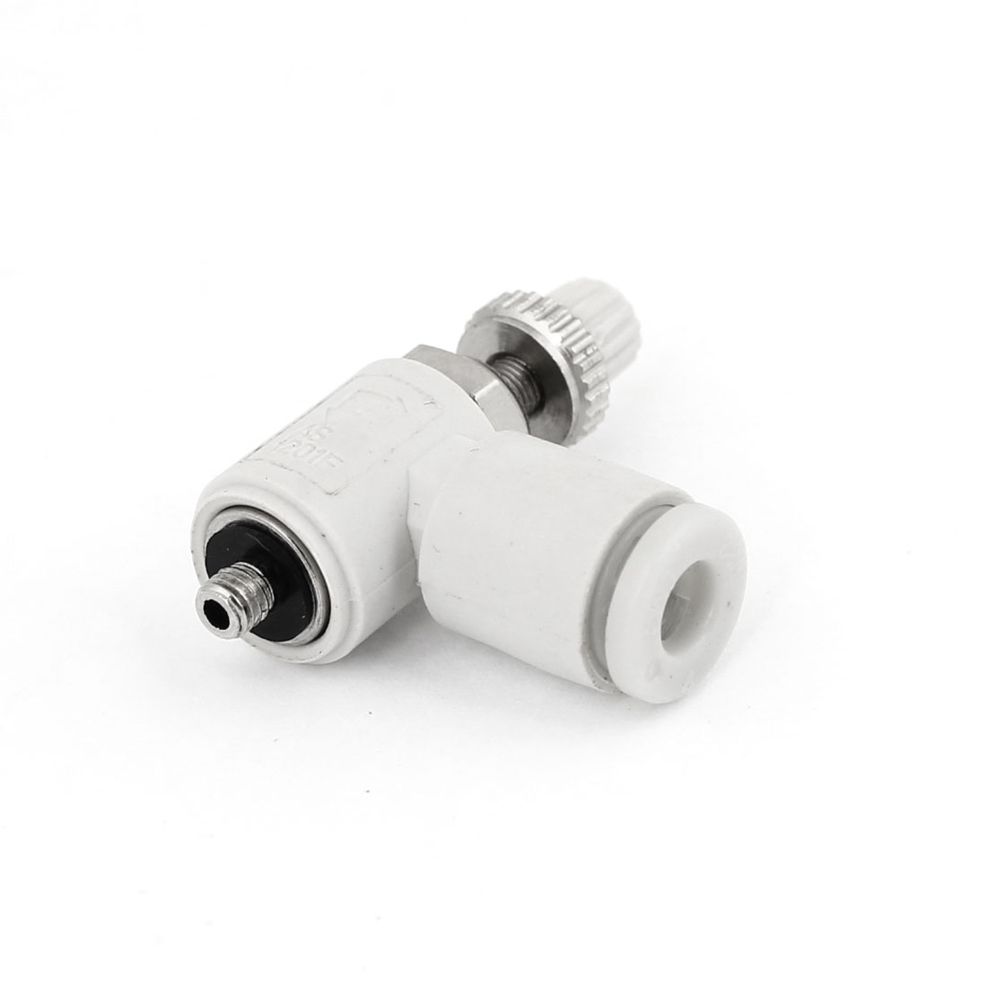 4mm Dia Tube 3mm Male Threaded Pneumatic Speed Controller Quick Connector