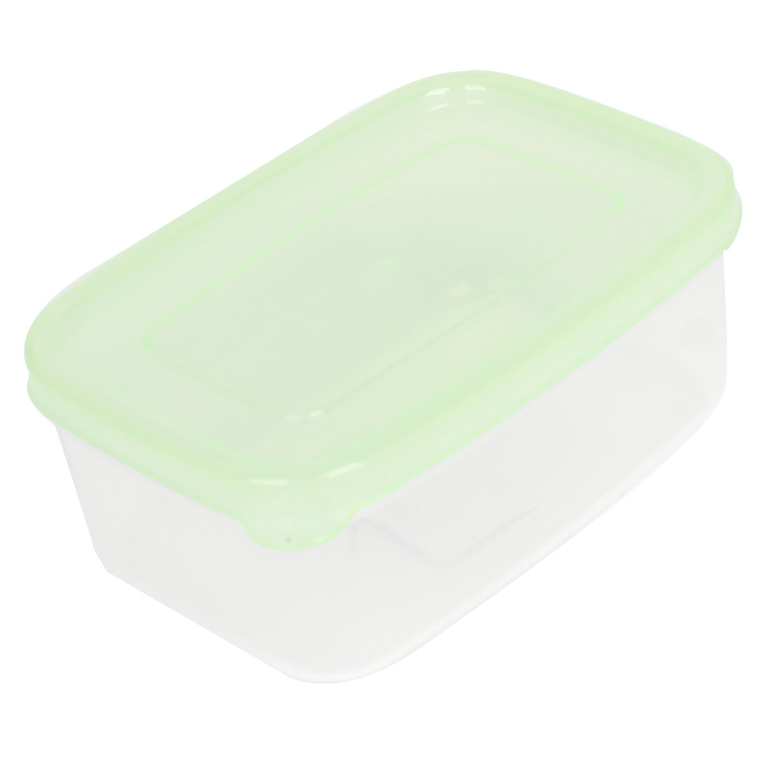 Plastic Portable Airtight Container Kitchen Ware Crisper Clear Light Green