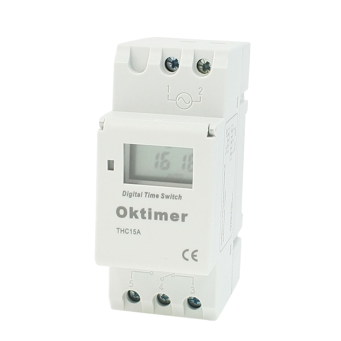 THC15A Digital LCD Weekly Weekly Programmable Timer Time Relay Switch AC 220V