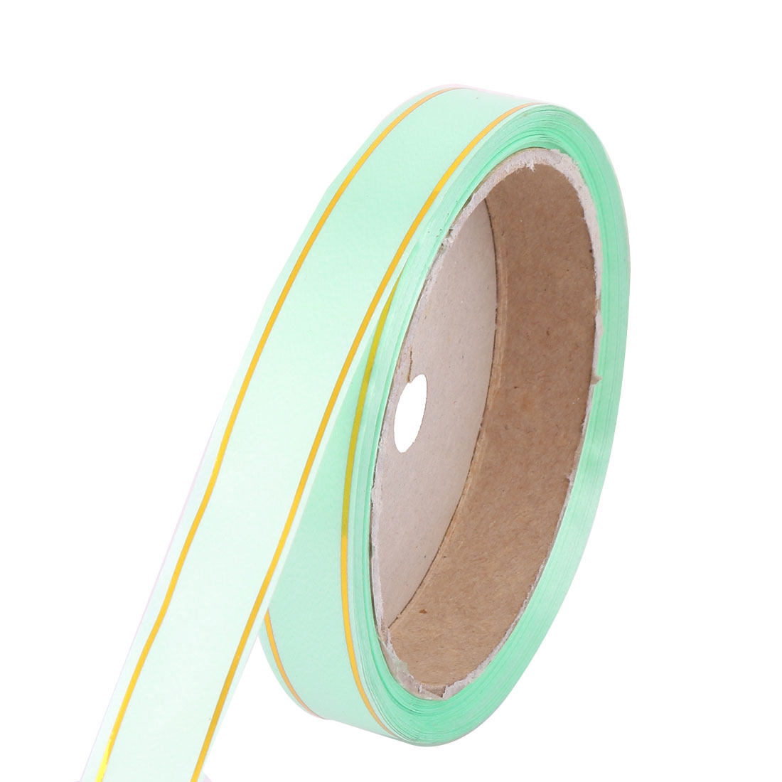 "DIY Gift Wrapping Light Green Ribbon Roll 1.1cm 0.4"" Width"
