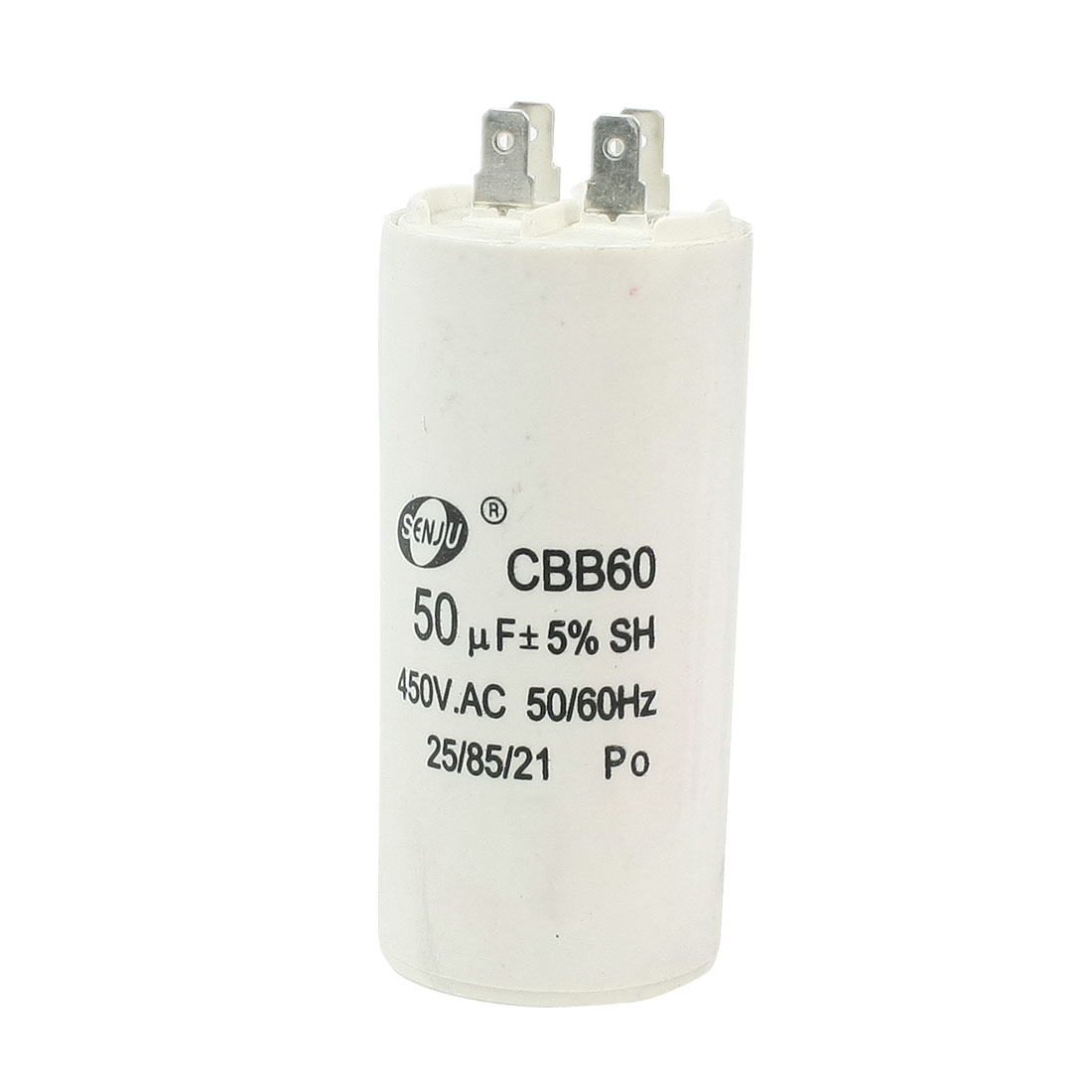 Washing Machine CBB60 Nonpolar Motor Running Capacitor AC 450V 50uF 50/60Hz