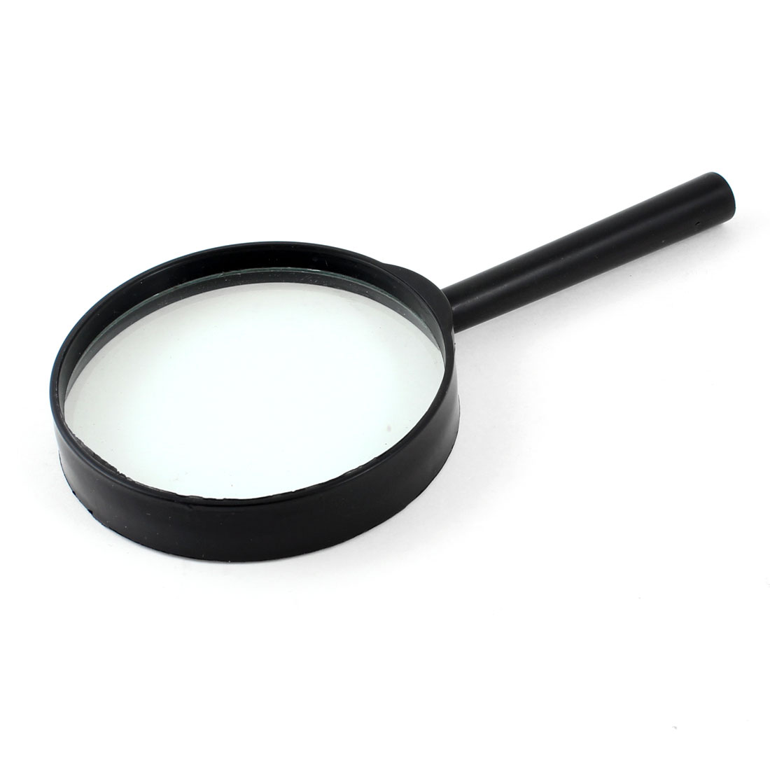 Black Straight-Shank 3X Magnifying Glass Within 75mm