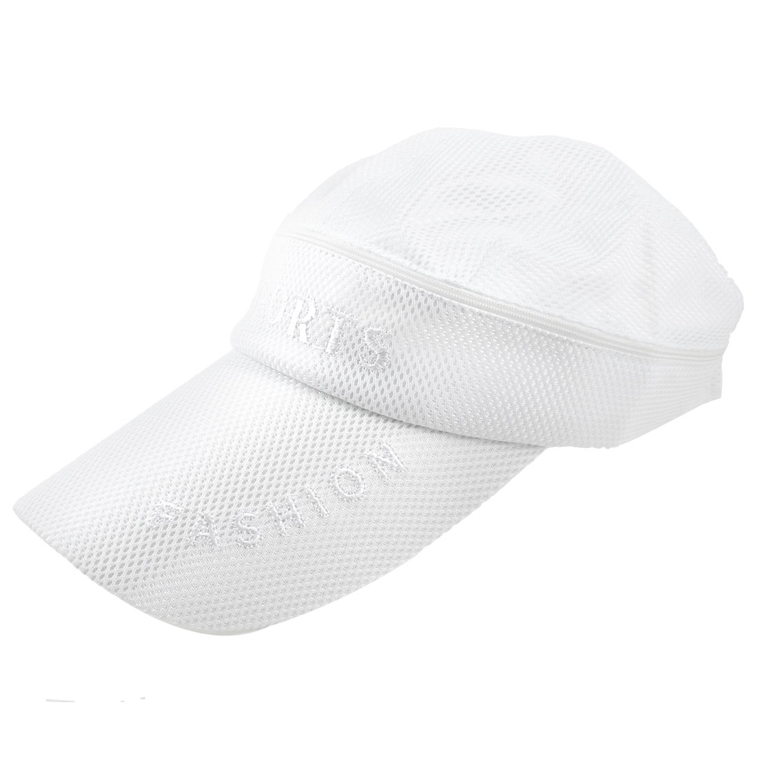 White Top Detachable Style Net Design Adjustable Sun Visor Cap Hat for Man