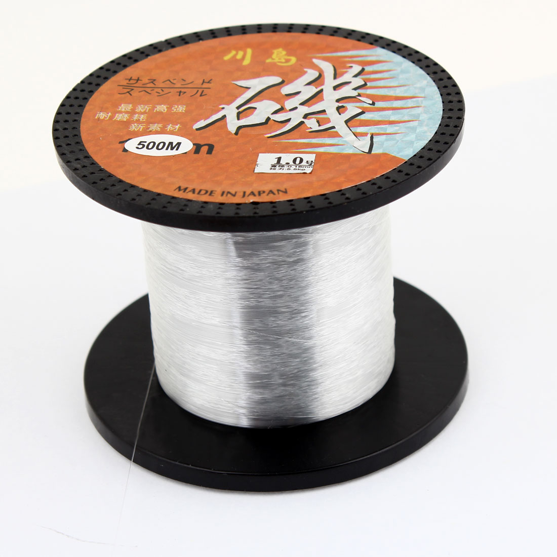 500M 0.16mm Dia 5.5Kg White Nylon Abrasion Resistance Fishing Line 1.0#