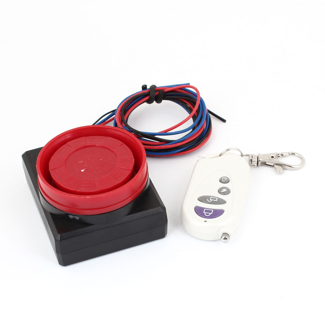 Motorcycle Motorbike Safety Sensor Vibration Alarm w Remote Control