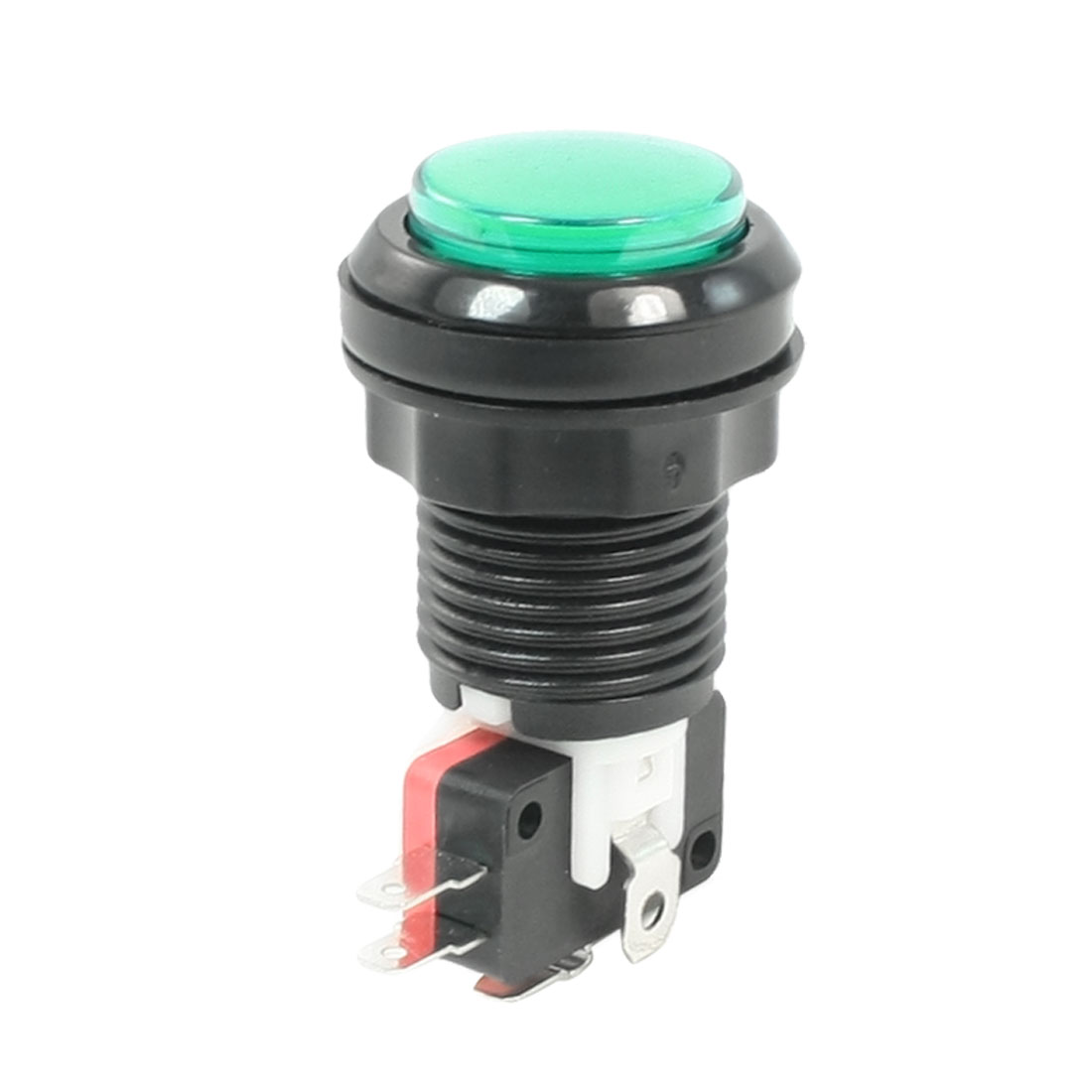 23mm NC Green Mushroom Emergency Stop Push Button Switch AC 250V 10A