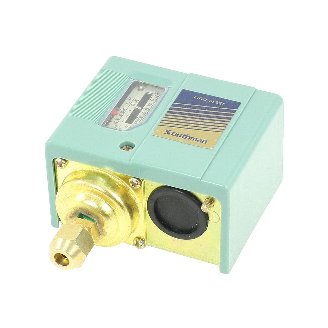 10-85PSI 1-Port Refrigeration System Air Compressor Pressure Control Switch Valve