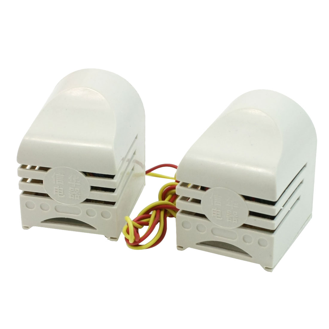 AC 220V 0.09A 20W Fluorescent Lamp Holder Brackets Pair for T10 T12 Light Tube