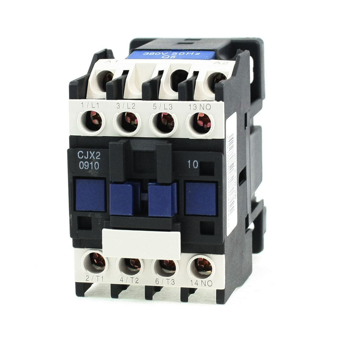 CJX2-0910 690V 3 Poles 3P NC 35mm DIN Rail AC Contactor 380V Coil
