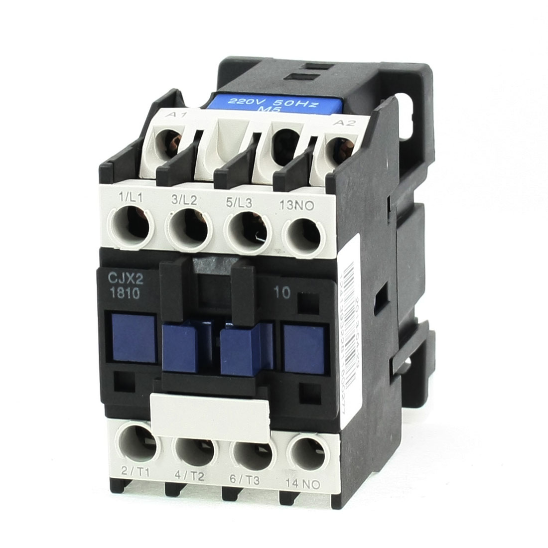 690V 3 Phase 3P N/C AC Contactor DIN Rail Mount 220V Coil CJX2-1810